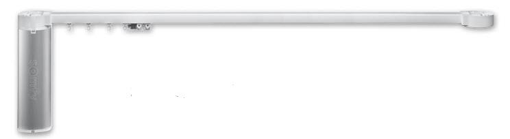 Nieuw in het assortiment: De Somfy Glydea 35 elektrische gordijnrails