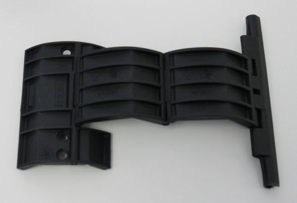 Afbeelding van een rolluikverbinding van Somfy met 2 elementen